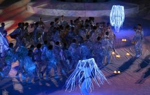 اداء فني عال خلال حفل الإفتتاح