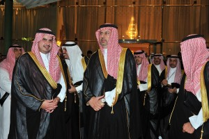 الأمير عبدالله بن مساعد والأمير عبدالحكيم بن مساعد