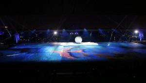 حفل افتتاح دورة الألعاب الخليجية الثانية