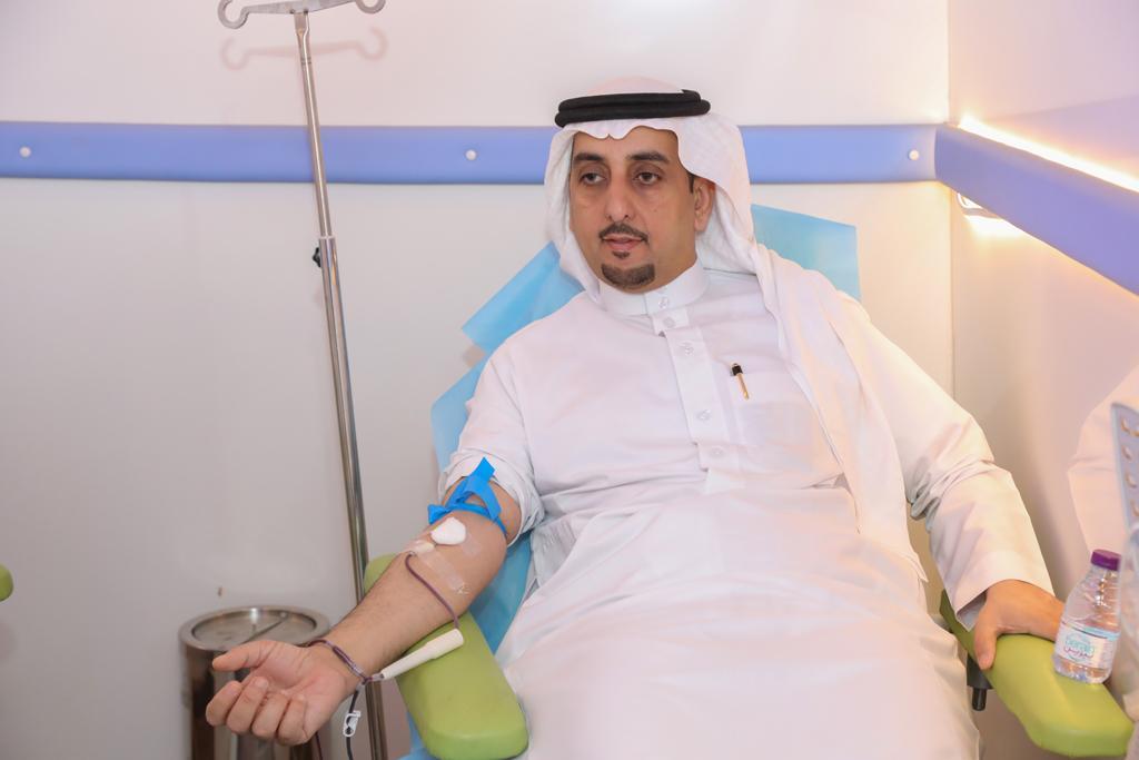 مستشفى الملك خالد بمحافظة المجمعة ممثلا بقسم بنك الدم ...